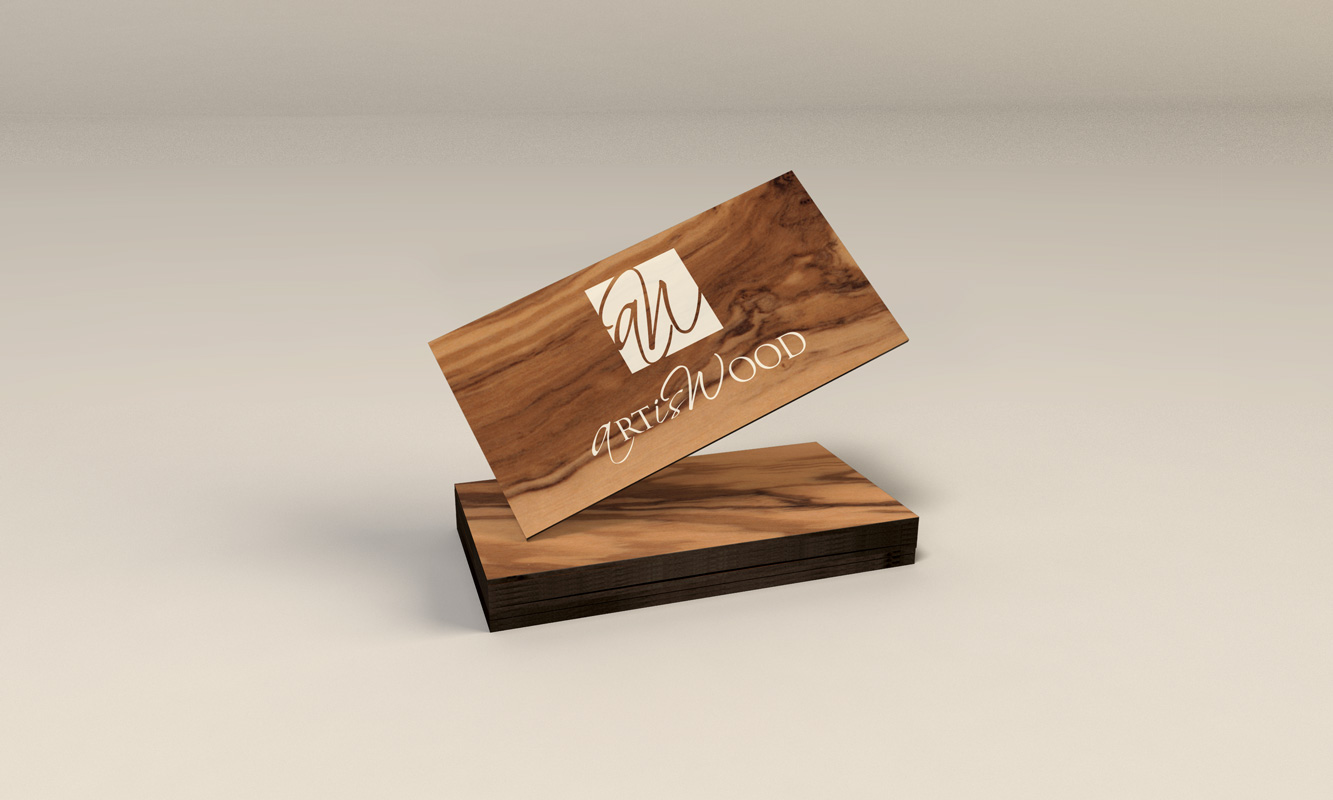 Logo-Art-Is-Wood-monochrome-My-and-Graphiste-Freelance-Marseille